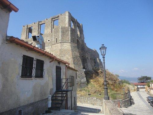 resti del castello - Squillace
