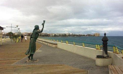 The Dique de Levante