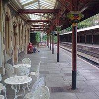 Southbound platform