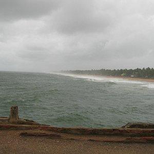 View from the unused Valiyathura Pier
