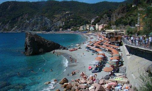 Preciosas playas de Monterosso