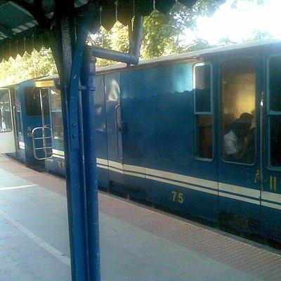 The Nilgiris heritage train...