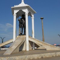 The Gandhi memorial, Pondicherry
