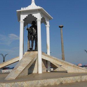 The Gandhi memorial, Pondicherry