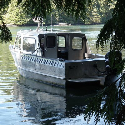 The Taxi at Meares Island