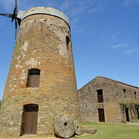 Vista privilegiado de un molino de viento que no pudo ser...
