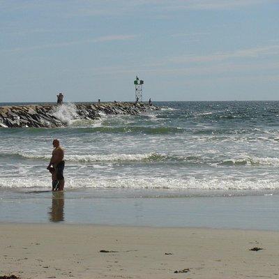 Jetty at Wells Beach