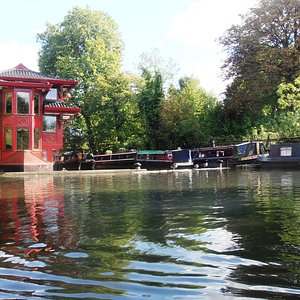 A view from the Canal boat