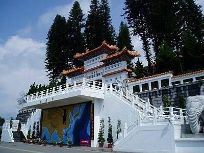 玄奘寺(シュェンサンスー)入り口
