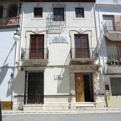 Fachada de la Casa-natal y Museo de Don Niceto Alcalá-Zamora y Torres