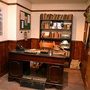 Come and have your photo taken in Mainwaring's woops, I mean the Vicar's office!