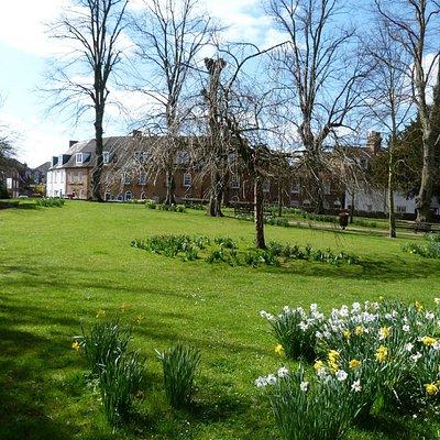 St Mary de Castro Gardens, Canterbury