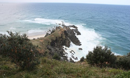 Most easterly point from the lighthouse trail