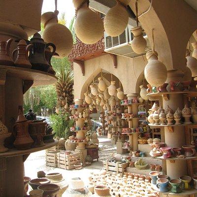 Beautiful Nizwa Pottery