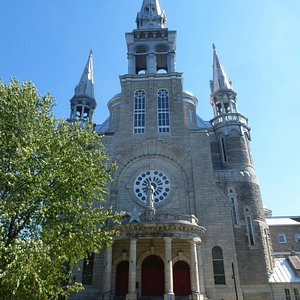 St Jerome cathedral at cycling route start or finish