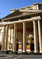 Ingresso del teatro da 21 Wellington St, Londra