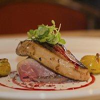 Petto d' anatra con foie gras
