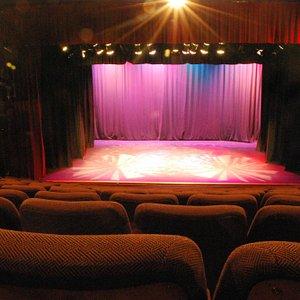 Auditorium at Backstage Theatre, Longford