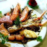 grigliata mista con verdure
