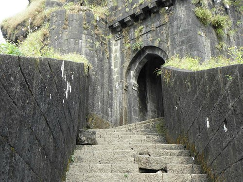 entrance door to first fort