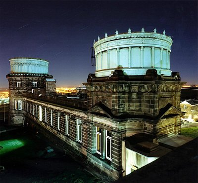 The Royal Observatory Edinburgh by night