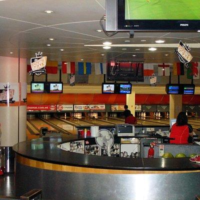 Eden Bowl. (Opposite Cinema/Intercontinental Hotel)