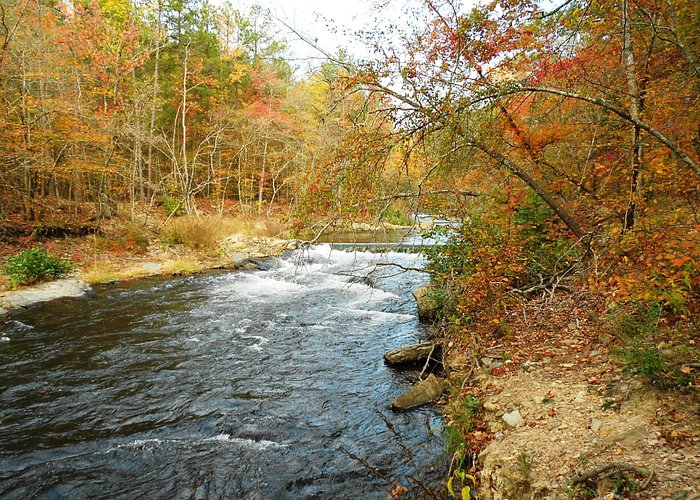 Beaver's Bend in the fall