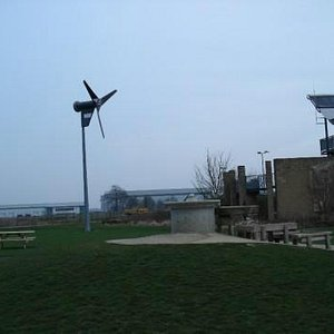 The windmill of the park
