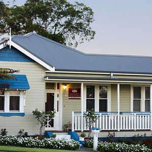 Front view of Newcastle's Bed & Breakfast