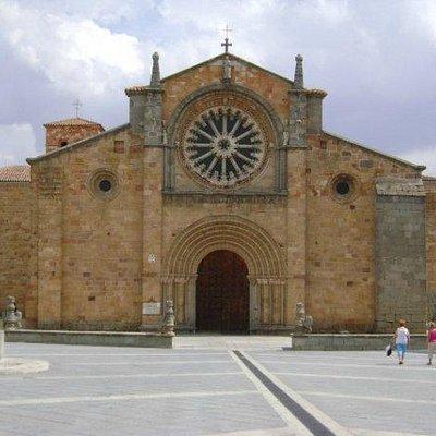 Iglesia de San Pedro, Ávila, España.