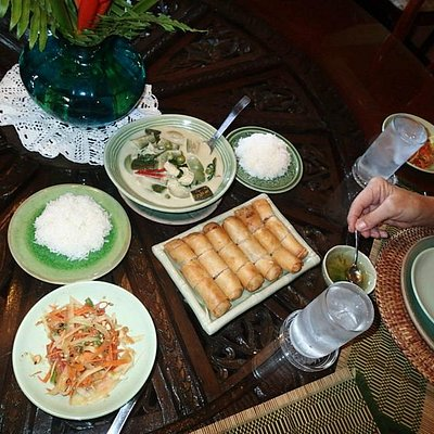 Our own Thai lunch--it was delicious!