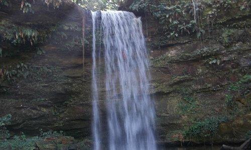 Cachoeira do Evilson, um lugar mágico e uma visão inesquecivel da natureza.