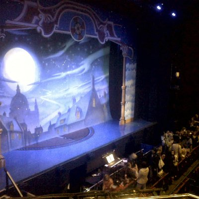Stage set for Peter Pan (December 2012)
