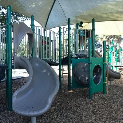 This is the play area for 2-5 year olds