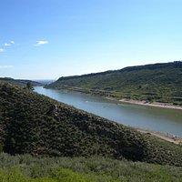 Horsetooth La riserva d'acqua per Fort Collins