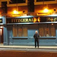 Exterior of Fitzgerald's in Limerick, Ireland