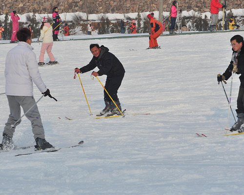 enjoy skiing