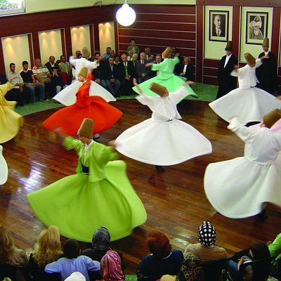 Male and Female Dervishes like the Rose Garden of Prophet Muhammed S.A.V