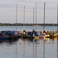 Segelboote auf dem Zwischenahner Meer