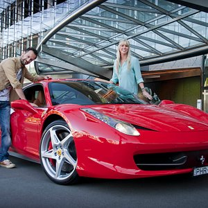 Ferrari 458 Italia - available exclusively to Prancing Horse
