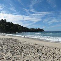 Canto esquerdo da Praia de Maresias