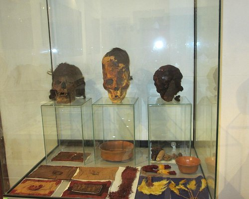 Some of the elongated skulls and more textiles