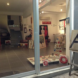 Ioannidou Art Gallery_main entrance