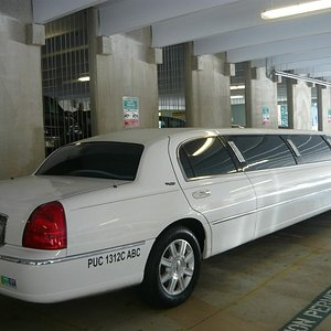 Our gorgeous limo!