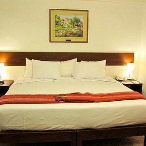 huge comfy beds