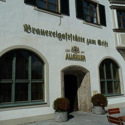 Brauereigaststätte zum Stift in Kempten/Allgäu