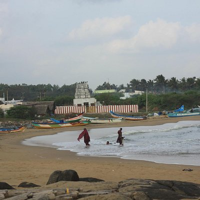 A fine morning at Kovalam Beach, Chennai