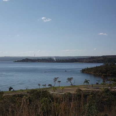 Vista para o Lago Paranoá - Parque Ecológico