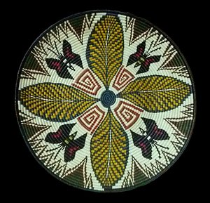 Wounaan Basketry: Woven Plates