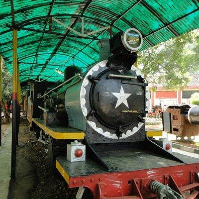 Steam engine - closer view